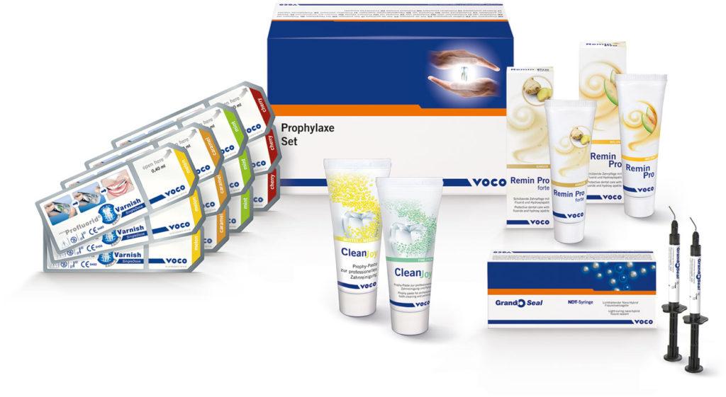 Prophylaxe-Set mit Top-Produkten zum Testen