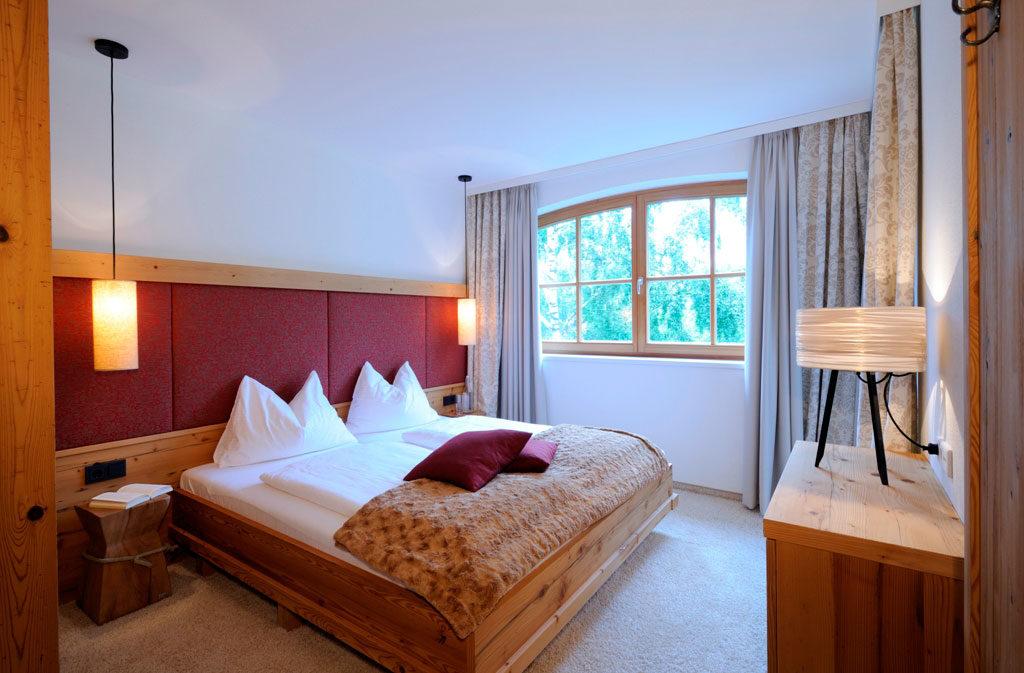 Rivus Appartements - Appartement Sonnberg Schlafzimmer