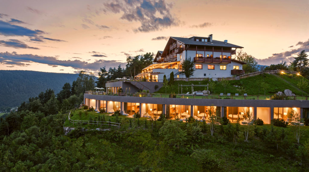 Im Südtiroler Hotel Belvedere