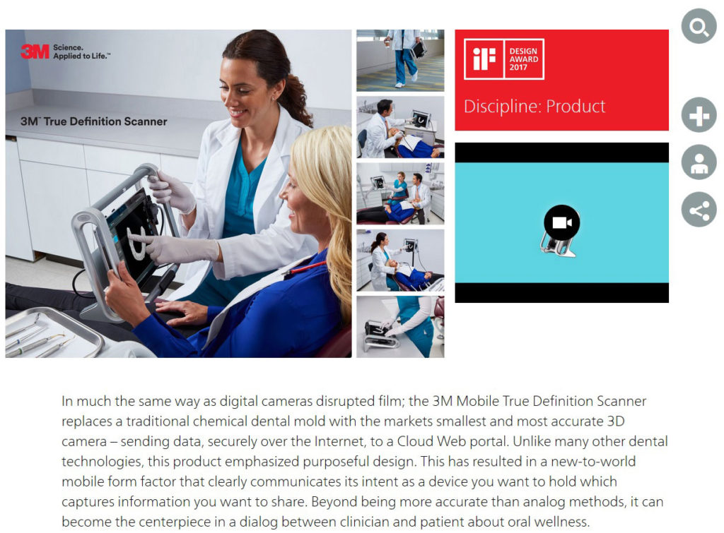 3M Mobile True Definition Scanner gewinnt iF Design Award 2017