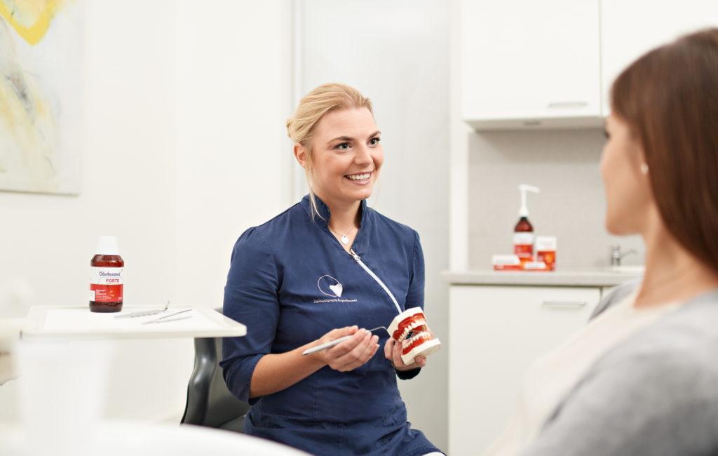 Mundhygiene-Expertin1 gesucht