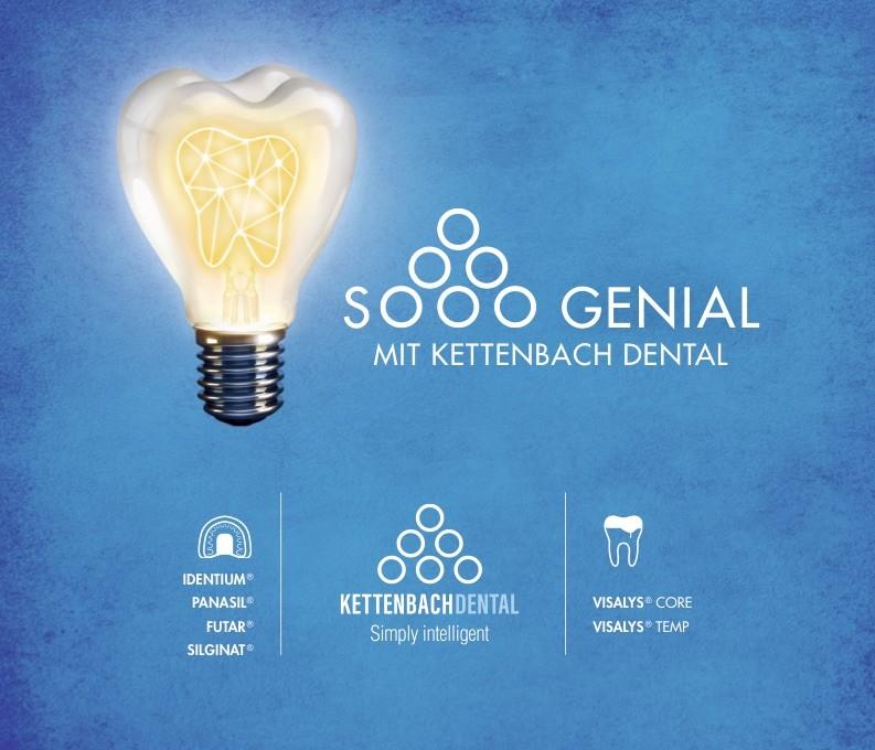 Kettenbach Dental mit neuem, integrierten Auftritt Kommunikation, die Zähne zeigt