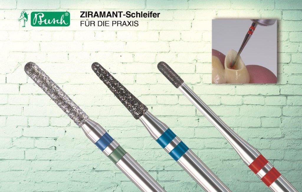 Effektives Bearbeiten von Zirkoniumdioxid in der Zahnarztpraxis