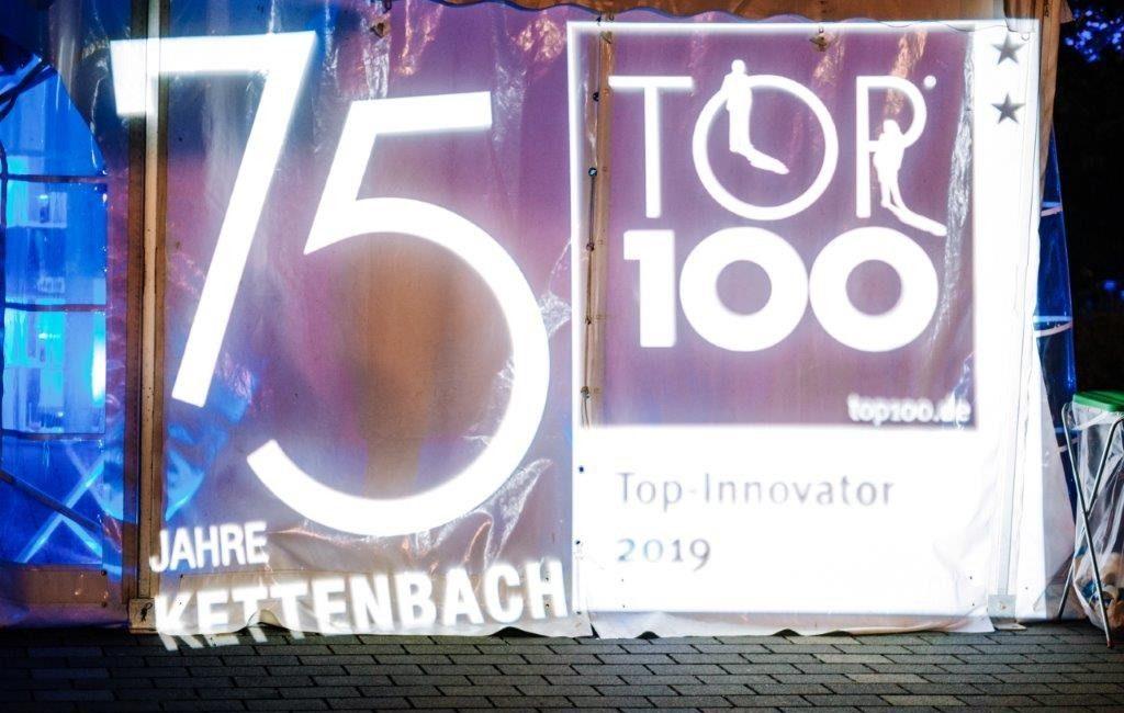 75-jähriges Firmen-Jubiläum und TOP-100 Innovator 2019