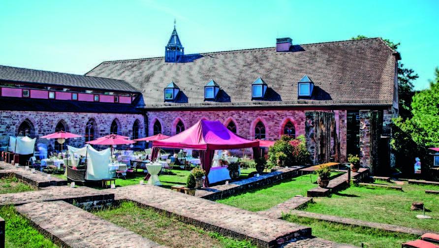 Jubiläum: 20 Jahre Hotel Kloster Hornbach