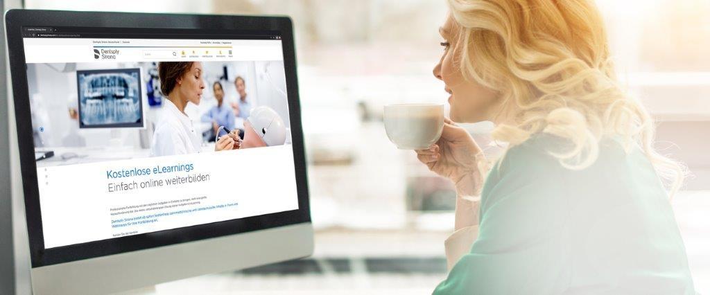 Dentsply Sirona bietet vielfältige kostenlose Online-Beratungen und Webinare an