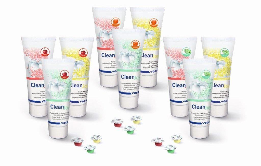 """Prophylaxepaste CleanJoy von VOCO nun auch in """"cherry"""" und """"caramel"""""""