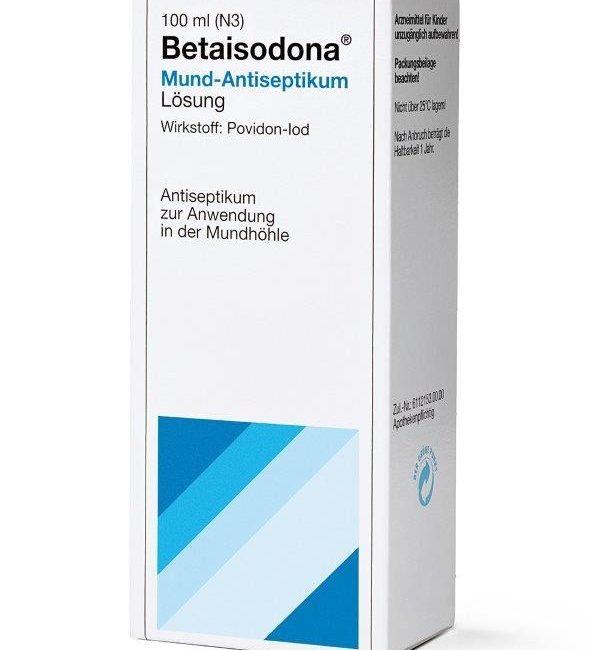Betaisodona® Mund-Antiseptikum Mundspülung mit PVP-I ergänzt SARS-CoV-2 Risikomanagement in der Zahnarztpraxis